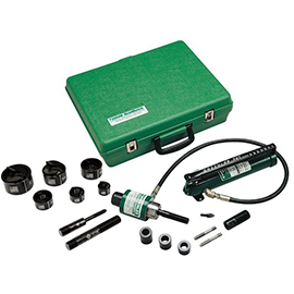 "Greenlee 7310SB 1/2"" to 2"" Slug Buster Punch Kit Knockout- Remanufactureded - General Equipment & Supply"