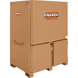 "Knaack 119-01 Jobsite Station Print Shack 60"" W X 44"" D X 82-1/2"" H Reconditioned"