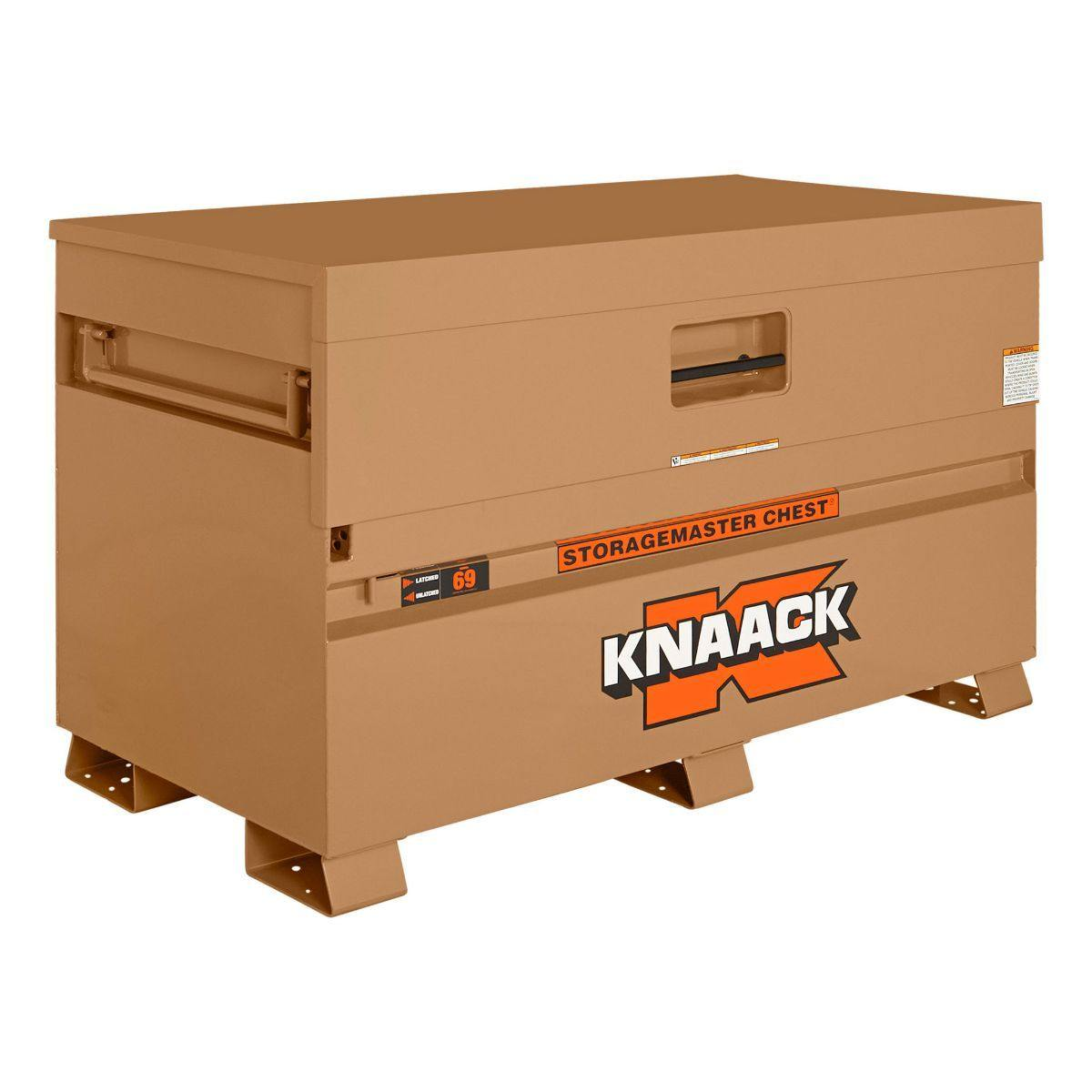 "Knaack 69 StorageMaster 60"" x 30"" x 34"" Piano Style Storage Gang Box Reconditioned"