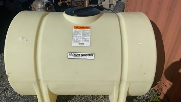 Snyder 1400000N42 Horizontal Leg Tank Natural XLPE 525 Gal Cap - New - General Equipment & Supply