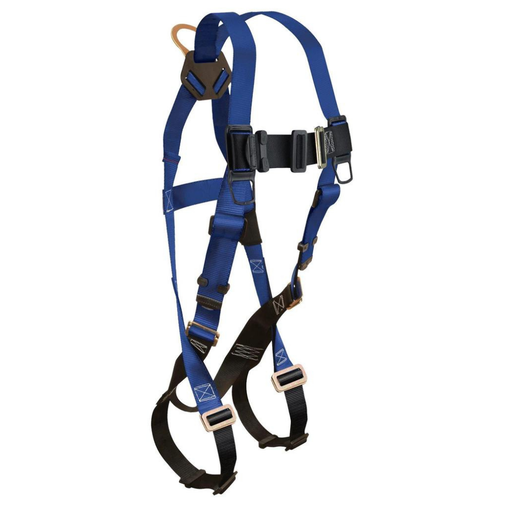 Falltech 70153X 3XLarge Contractor 1D Standard Non-belted Full Body Harness New
