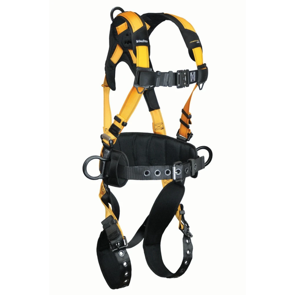 Falltech 7035BM Medium Journeyman Flex Aluminum 3D Construction Belted Full Body Harness- New - General Equipment & Supply