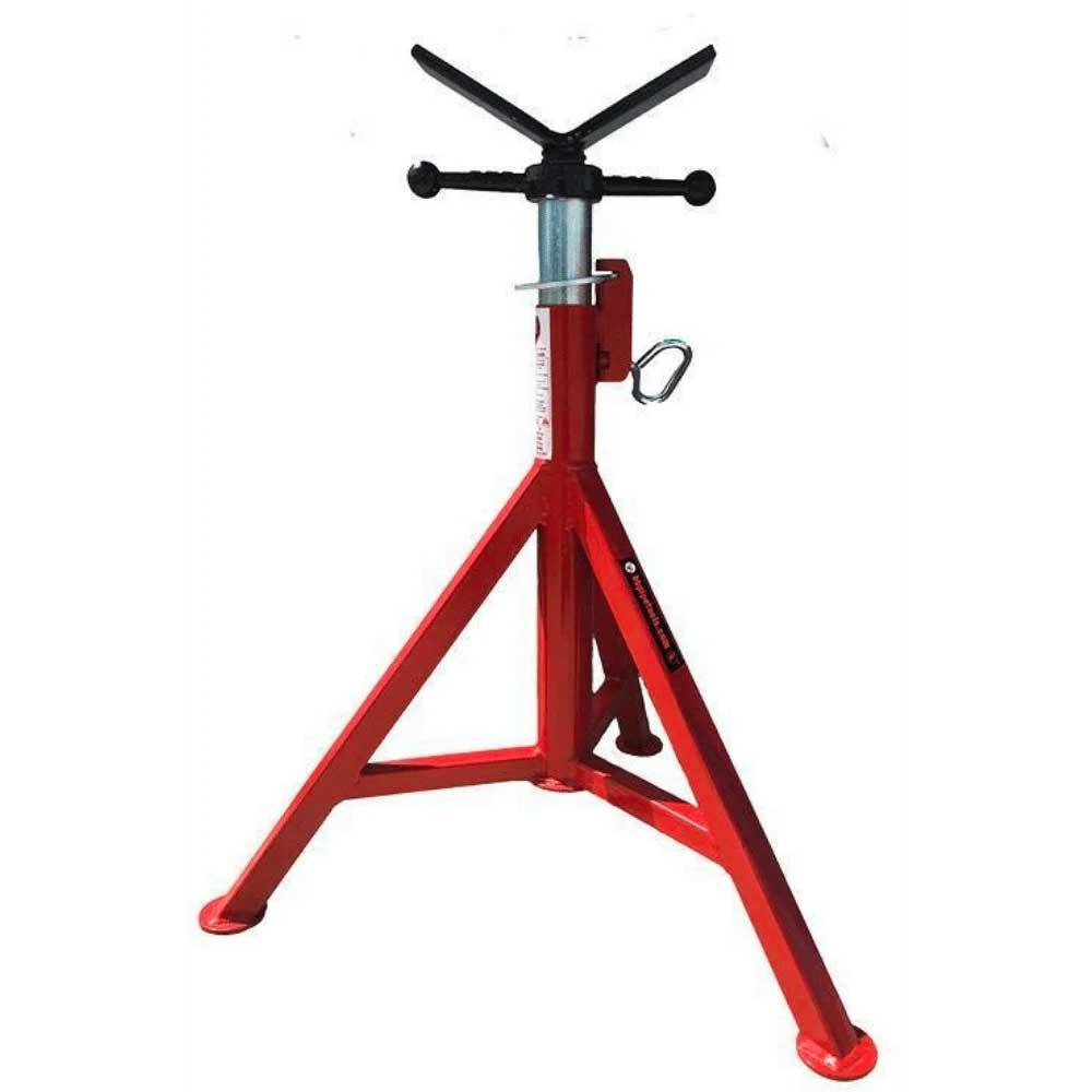 "B&B 4100 Standard Fixed l Leg V-Head Pipe Jack Stand 27""-48""- Remanufactured - General Equipment & Supply"