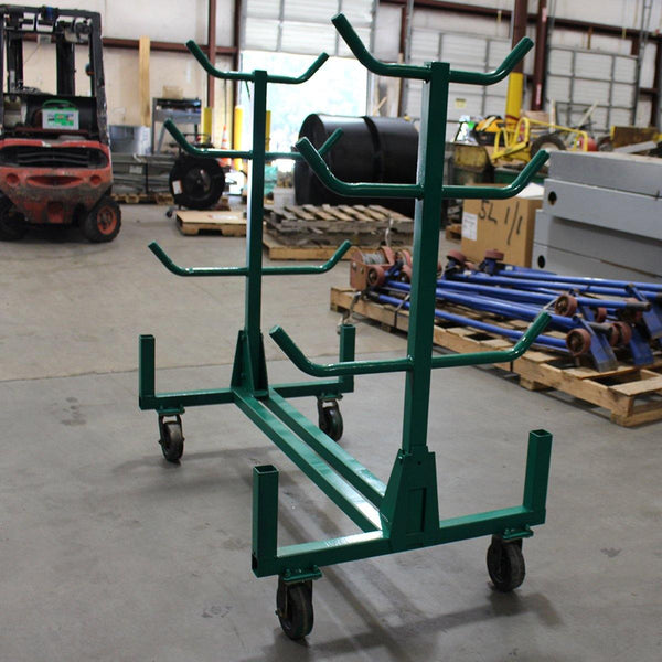 Greenlee 668 Style Mobile Conduit and Pipe Rack Cart- Remanufactureded - General Equipment & Supply
