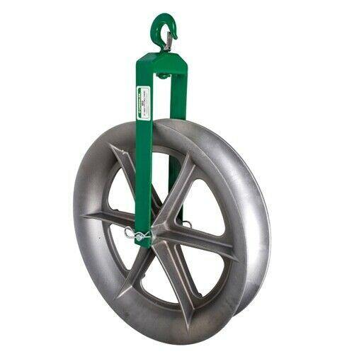 Greenlee 653 24 inch Hook Type Cable Sheave Assembly 4000lbs Capacity- Remanufactureded - General Equipment & Supply