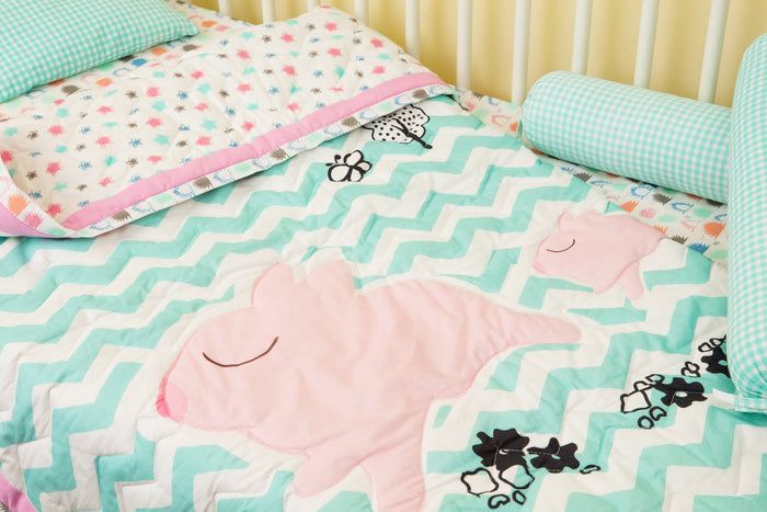 Pink Piggy - Bedding