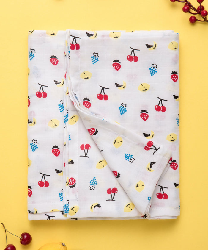 Fruit Punch - Muslin Swaddle