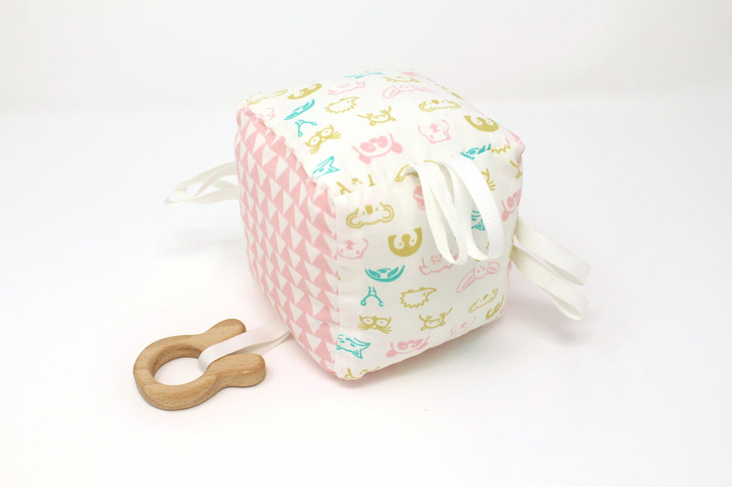 Forest Animals - Teething Cube