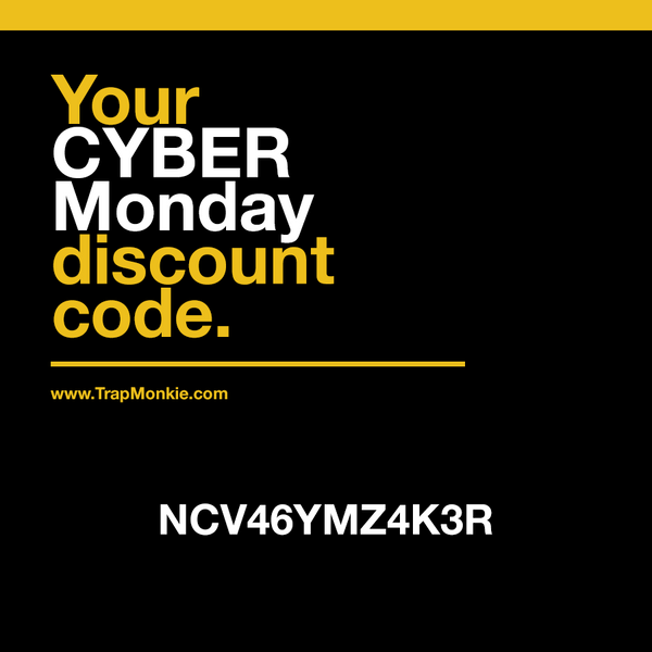 Your CYBER Monday Discount Code