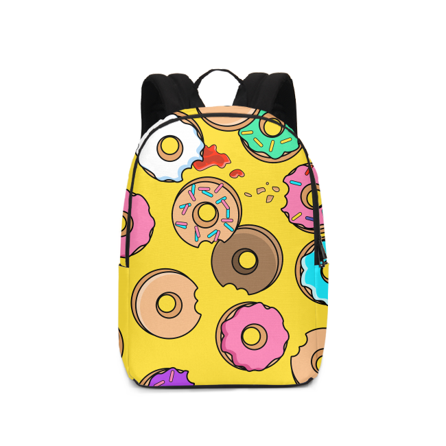 Dope Donuts Backpack - TrapMonkie Aesthetic Clothing, Monkey Streetwear, Trap Shop, Trap Fits, Custom Skateboards, Monkey Gear
