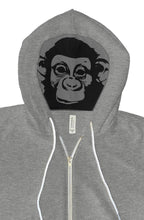 Load image into Gallery viewer, Dope Monkey Hoodie Grey - TrapMonkie Aesthetic Clothing, Monkey Streetwear, Trap Shop, Trap Fits, Custom Skateboards, Monkey Gear
