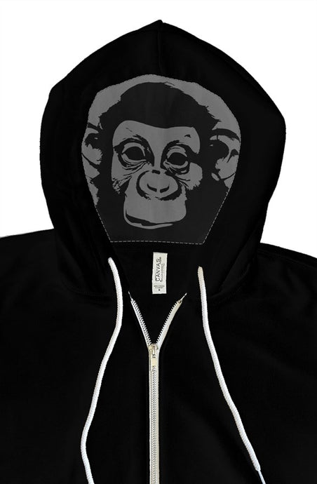 Dope Monkey Hoodie Black - TrapMonkie Aesthetic Clothing, Monkey Streetwear, Trap Shop, Trap Fits, Custom Skateboards, Monkey Gear