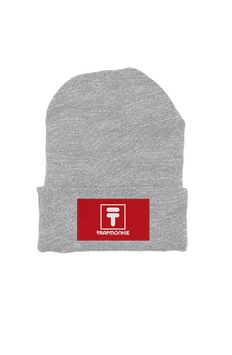Grey Beanie FILA Trap Edition - TrapMonkie Aesthetic Clothing, Monkey Streetwear, Trap Shop, Trap Fits, Custom Skateboards, Monkey Gear