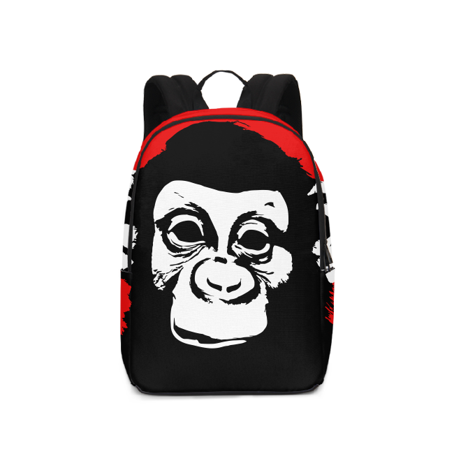 TrapMonkie Dope Monkey Backpack - TrapMonkie Aesthetic Clothing, Monkey Streetwear, Trap Shop, Trap Fits, Custom Skateboards, Monkey Gear