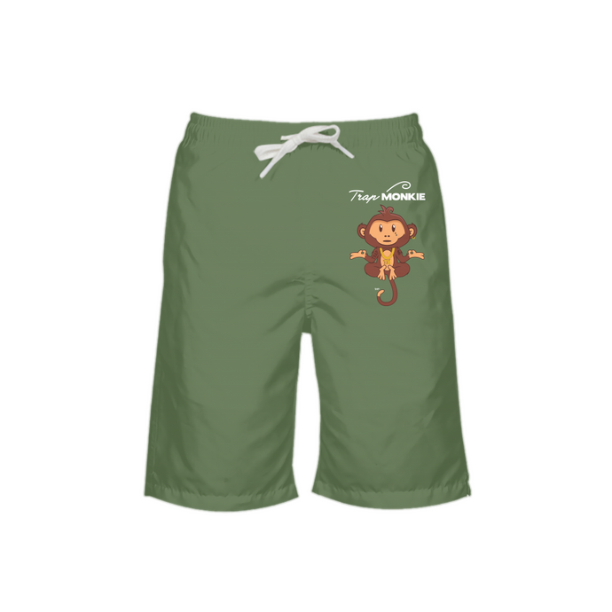 Concrete Jungle Boys Swim Trunks - TrapMonkie Aesthetic Clothing, Monkey Streetwear, Trap Shop, Trap Fits, Custom Skateboards, Monkey Gear