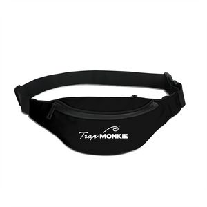 Dope Bag Black Fanny Pack - TrapMonkie Aesthetic Clothing, Monkey Streetwear, Trap Shop, Trap Fits, Custom Skateboards, Monkey Gear