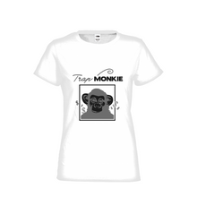 Load image into Gallery viewer, TrapMonkie Womens T-Shirt - TrapMonkie Aesthetic Clothing, Monkey Streetwear, Trap Shop, Trap Fits, Custom Skateboards, Monkey Gear