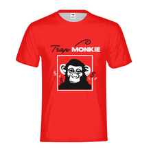 Load image into Gallery viewer, TrapMonkie Kids T-Shirt - TrapMonkie Aesthetic Clothing, Monkey Streetwear, Trap Shop, Trap Fits, Custom Skateboards, Monkey Gear