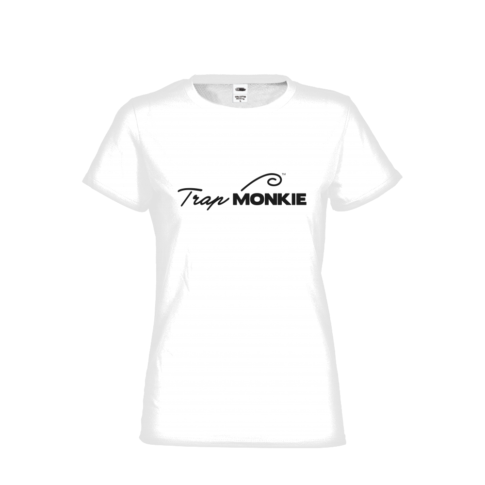 TrapMonkie Logo Womens Tee - TrapMonkie Aesthetic Clothing, Monkey Streetwear, Trap Shop, Trap Fits, Custom Skateboards, Monkey Gear