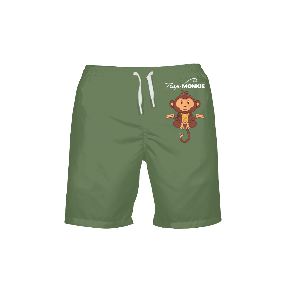 TrapMonkie Mens Swim Trunks - TrapMonkie Aesthetic Clothing, Monkey Streetwear, Trap Shop, Trap Fits, Custom Skateboards, Monkey Gear