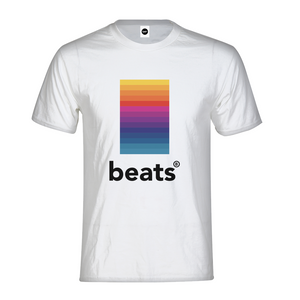 Retro Beats Mens T-Shirt - TrapMonkie Aesthetic Clothing, Monkey Streetwear, Trap Shop, Trap Fits, Custom Skateboards, Monkey Gear