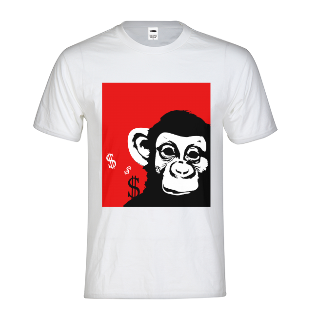 TrapMonkie Original T-Shirt - TrapMonkie Aesthetic Clothing, Monkey Streetwear, Trap Shop, Trap Fits, Custom Skateboards, Monkey Gear