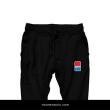 Load image into Gallery viewer, TM BASKETBALL Black Joggers - TrapMonkie Aesthetic Clothing, Monkey Streetwear, Trap Shop, Trap Fits, Custom Skateboards, Monkey Gear