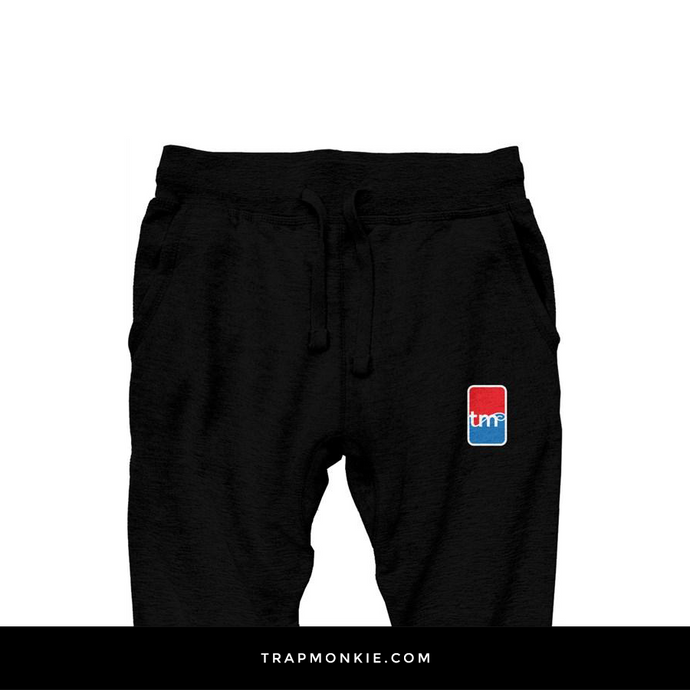 TM BASKETBALL Black Joggers - TrapMonkie