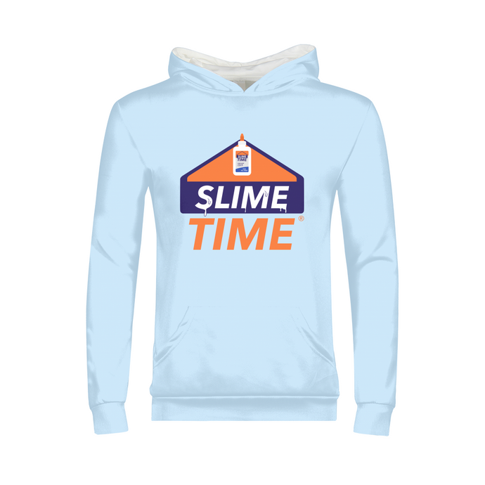 Slime Time Kids Hoodie - TrapMonkie Aesthetic Clothing, Monkey Streetwear, Trap Shop, Trap Fits, Custom Skateboards, Monkey Gear