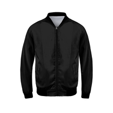 Load image into Gallery viewer, TrapMonkie | Black Bomber Jacket - TrapMonkie Aesthetic Clothing, Monkey Streetwear, Trap Shop, Trap Fits, Custom Skateboards, Monkey Gear