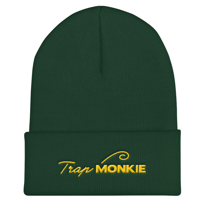 Logo Cuffed Beanie - TrapMonkie Aesthetic Clothing, Monkey Streetwear, Trap Shop, Trap Fits, Custom Skateboards, Monkey Gear
