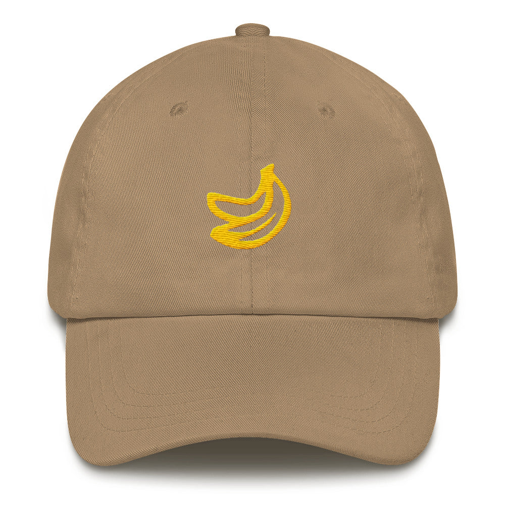 Banana Dad Hat - TrapMonkie Aesthetic Clothing, Monkey Streetwear, Trap Shop, Trap Fits, Custom Skateboards, Monkey Gear