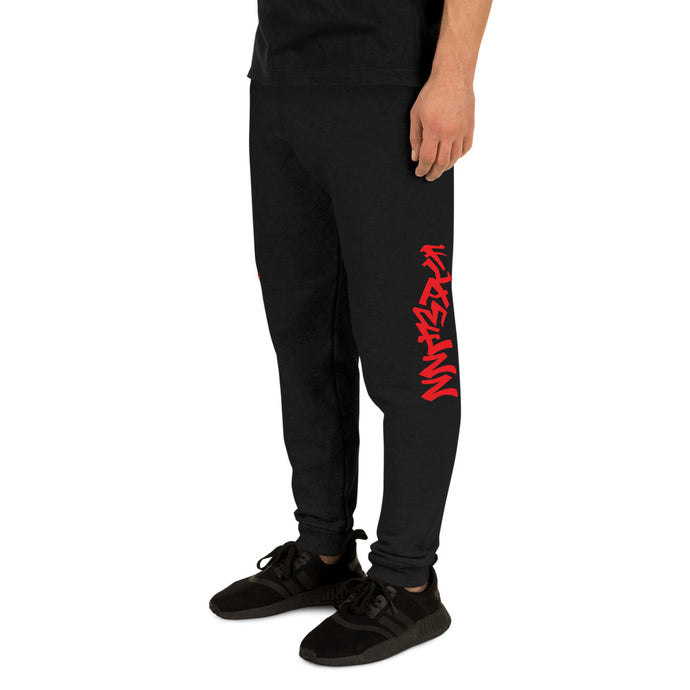 Flamezz Unisex Joggers - TrapMonkie Aesthetic Clothing, Monkey Streetwear, Trap Shop, Trap Fits, Custom Skateboards, Monkey Gear
