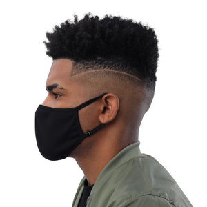 Black Face Mask (3-Pack) - TrapMonkie