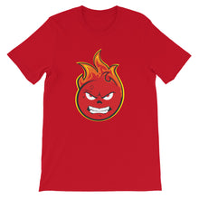 Load image into Gallery viewer, Flamezz Fire Emoji Unisex T-Shirt - TrapMonkie