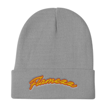 Load image into Gallery viewer, Flamezz Embroidered Beanie - TrapMonkie Aesthetic Clothing, Monkey Streetwear, Trap Shop, Trap Fits, Custom Skateboards, Monkey Gear