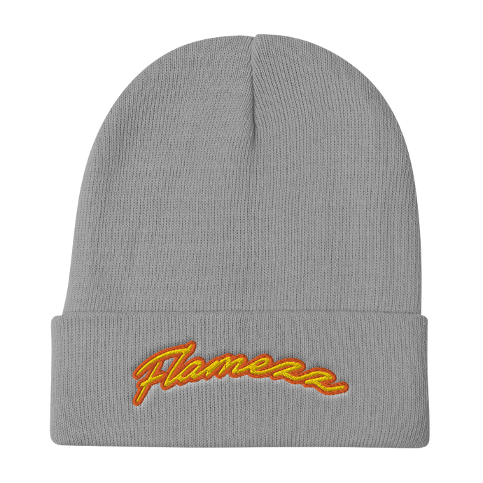 Flamezz Embroidered Beanie - TrapMonkie
