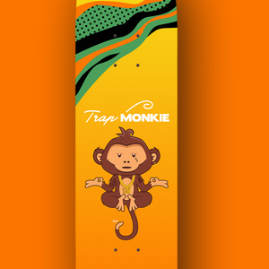 TrapMonkie Skateboard - TrapMonkie Aesthetic Clothing, Monkey Streetwear, Trap Shop, Trap Fits, Custom Skateboards, Monkey Gear