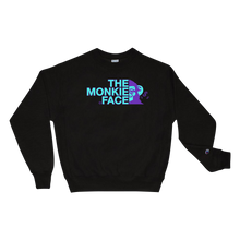 Load image into Gallery viewer, Monkie Face Champion Sweatshirt - TrapMonkie Aesthetic Clothing, Monkey Streetwear, Trap Shop, Trap Fits, Custom Skateboards, Monkey Gear