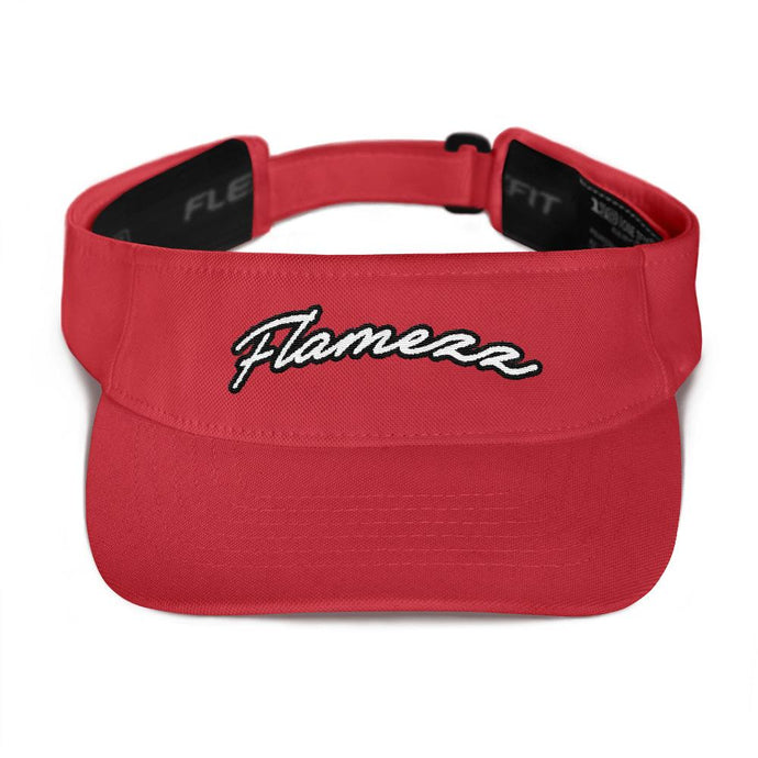 Flamezz Visor - TrapMonkie Aesthetic Clothing, Monkey Streetwear, Trap Shop, Trap Fits, Custom Skateboards, Monkey Gear