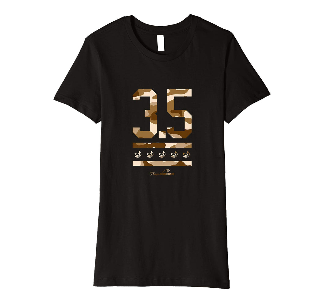 3 POINT 5 Womens T-Shirt - TrapMonkie Aesthetic Clothing, Monkey Streetwear, Trap Shop, Trap Fits, Custom Skateboards, Monkey Gear