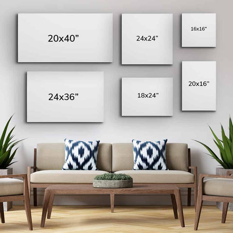 Multiple Painting Sizes