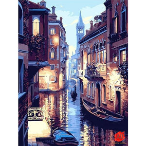 Paint By Numbers - Venice At Night