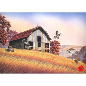 Paint By Numbers - Wonderful Huts Landscape & Flowers