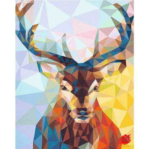 paint by numbers deer