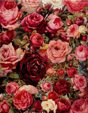 Load image into Gallery viewer, Roses Painting with DIY Kit - Paint Yourself