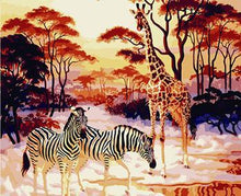 Load image into Gallery viewer, Framed Tigers, Horses, Wolves and Other Animal Paintings
