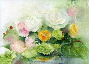 21 Beautiful Flowers Unframed and Framed Kits