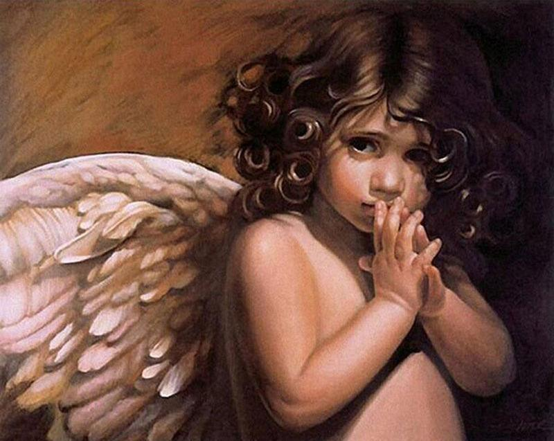 angel painting by numbers