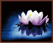 Load image into Gallery viewer, Flower Painting with Numbers